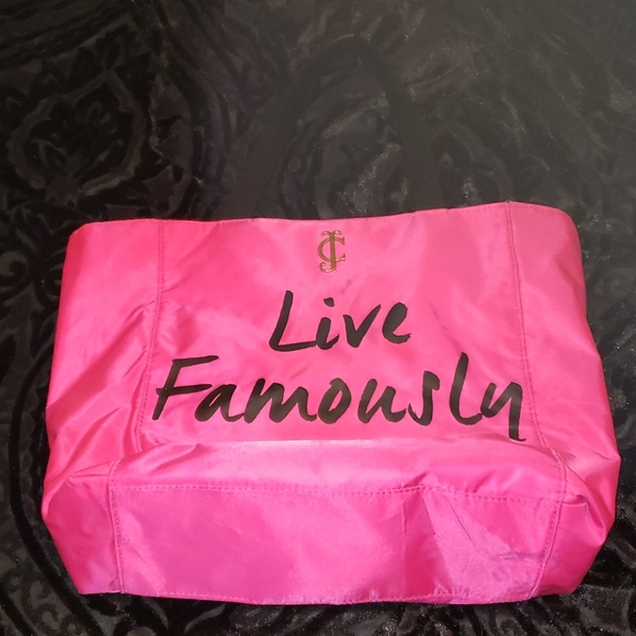 """Juicy Couture- """"Live Famously"""" tote"""